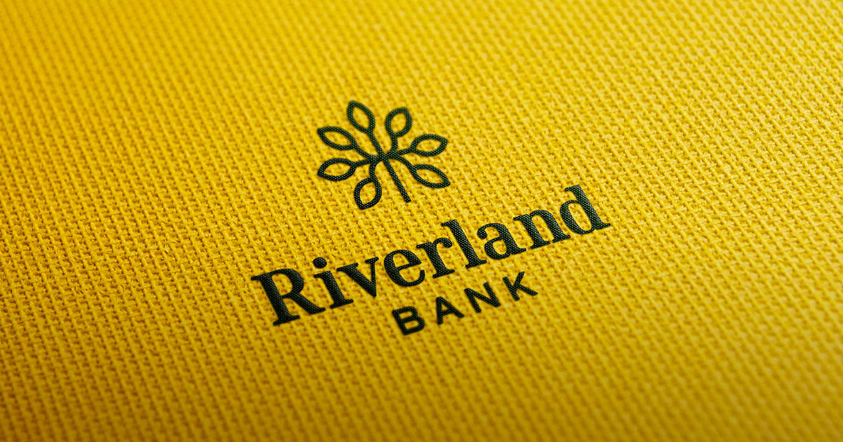 Riverland Bank New Logo and Branding