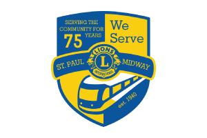 Lions Club Anniversary Logo