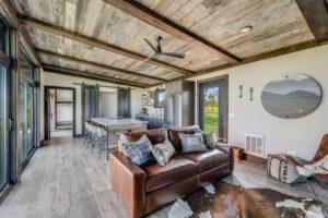 Nomadic Shack interior living space